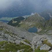 Lago di Canee e Alpe di Pèu