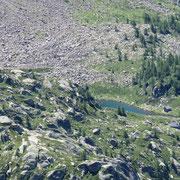 Lago di Mognòla e Corte della Sassina