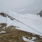 Ci fermiamo qui a 2484 m