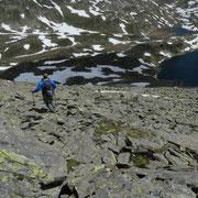 Discesa nella Val Cadlimo