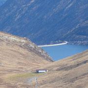 Passo dell'Uomo e Lago Santa Maria