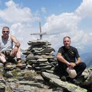 Pizzo dell'Uomo cima quotata 2663 m