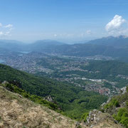 Panorama verso Lugano