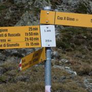 Passo San Jorio, ritorniamo all'Alpe di Giumello