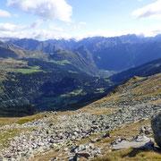 Dalla Sella di Ör Languosa verso la Valle di Blenio