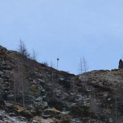 Bocchetta del Büscenel dal sentiero alpino a 2106 m