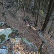 Salita alla Capanna Brogoldone (sentiero ripido)