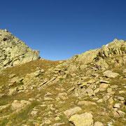 Verso il Passo a 2537 m