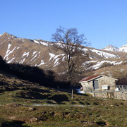 Alpe Colmine 1483 m e Gazzirola