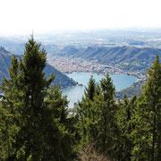 Como vista dal Monte Bisbino