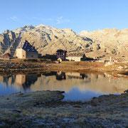 Ospizio del Passo del San Gottardo 2091 m