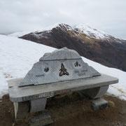 Monte Giove 1298 m, in secondo piano il Monte Faierone
