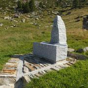 Nuova fontana all'Alpe di Canee 2047 m