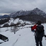 Monti di Comino 1215 m, Pianascio ed il Pizzo Ruscada