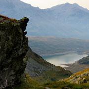 Verso il Lago di Monte Spluga