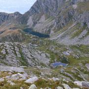 Alp de Calvaresc con i suoi laghetti
