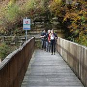 Ponte sopra il fiume Breggia