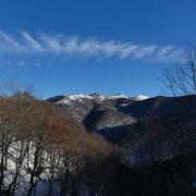 Verso il Monte San Bernardo e Colmegnone
