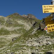 Sella 2268 m e Torrone Rosso
