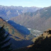 Panorama verso Roveredo .............