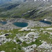 Laghetti a 2442 m