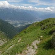 Discesa all'Alpe di Neggia