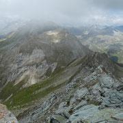 La cresta verso il Valser Horn