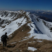 Verso il Monte Segor