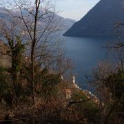 Verso Brienno ed il Lago di Como