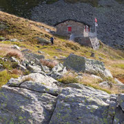 Rifugio Gana Rossa 2270 m