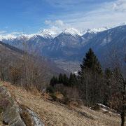 Arrivato ai Monti di Saurù 1320 m
