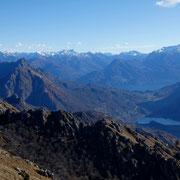 Verso il Monte Grona e Lago di Piano