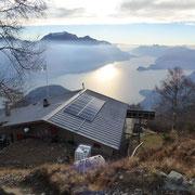 Rifugio Menaggio 1373 m e Lago di Como