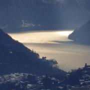 Riflessi sul Lago di Lugano