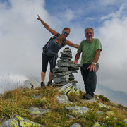 Pizzo di Morinere 2253 m con Monica