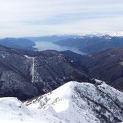 Panorama dal Sasso della Gallina 1630 m
