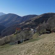 Vegna - Monti Finsué 1201 m