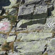 Passaggio nella roccia