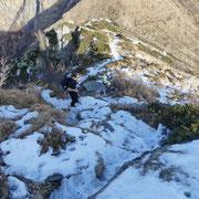 Discesa all'Alpe di Bietri