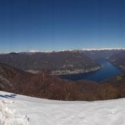 Panoramica dal Monte Boletto 1236 m