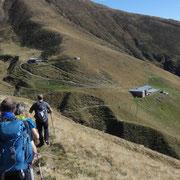 Arrivati all'Alpe Piazza Vacchera