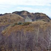 Dalla Cima di Lago verso il monumento militare