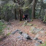 Sentiero ripido per la Capanna Brogoldone