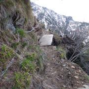 Il sentiero è statto ristrutturato con diversi ponti