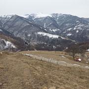 Verso il Monte Cucco e Cima di Fojorina