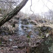 Tanta acqua sul percorso.......