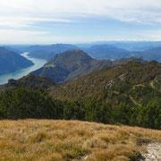 Panorama verso il Monte Boglia