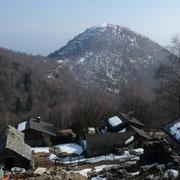 Scierz 1235 m e Monte Giove