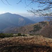 Arrivati al Monte San Bernardo cima 1351 m
