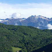 Panorama da Gola di Lago 970 m